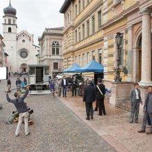 Anna & Yusef: le riprese  al Dipartimento di Sociologia in via Verdi a Trento