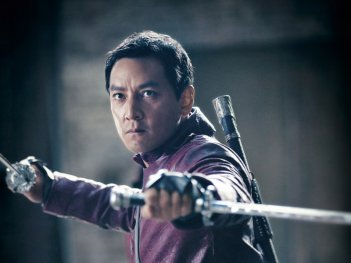 Into the Badlands: Daniel Wu in una scena della serie