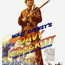 Locandina di Le avventure di Davy Crockett