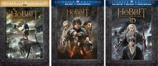 Le cover homevideo di Lo Hobbit 3