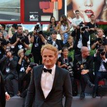 Everest: Jason Clarke in versione bionda sul tappeto rosso di Venezia 2015