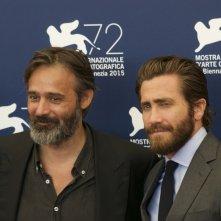 Everest: Gyllenhaal con Baltasar Kormakur al photocall di Venezia 2015