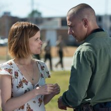 Man Down: Kate Mara e Shia Labeouf in un'immagine del film