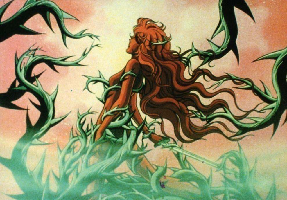 Lady Oscar, un'immagine dall'anime
