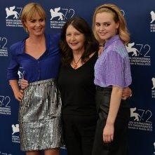 Venezia 2015: Radha Michell, Sue Brooks e Odessa Young al photocall di Looking For Grace