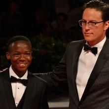 Venezia 2015:Abraham Attah e Cary Fukunaga sul red carpet