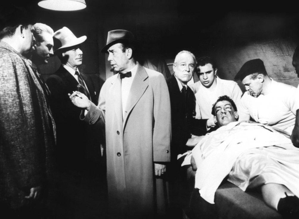 Humphrey Bogart ne Il colosso d'argilla