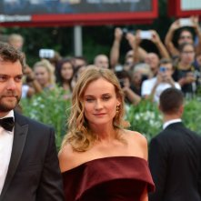 Venezia 2015: Joshua Jackson e Diane Kruger sul red carpet di Black Mass