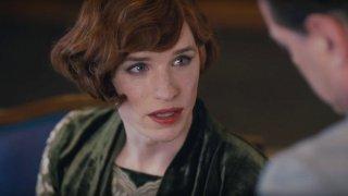 The Danish Girl: un bel primo piano di Eddie Redmayne nel film di Tom Hooper