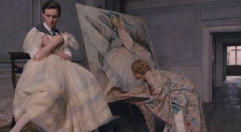 The Danish Girl: Eddie Redmayne e Alicia Vikander in un'immagine del film