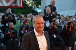 Venezia 2015: Corrado Guzzanti sul red carpet di The Bigger Splash