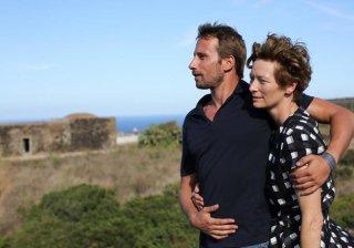 A Bigger Splash: Tilda Swinton e Matthias Schoenaerts in un'immagine del film diretto da Luca Guadagnino