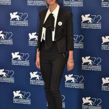 Venezia 2015: Roberta Mattei al photocall di Non essere cattivo