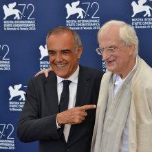 Venezia 2015: Alberto Barbera e Bertrand Tavernier vincitore del leone d'oro alla carriera