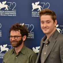 Venezia 2015: Charlie Kaufman e Duke Johnson al photocall di Anomalisa