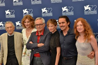 Venezia 2015: Marco Bellocchio e il cast di Sangue del mio sangue al photocall