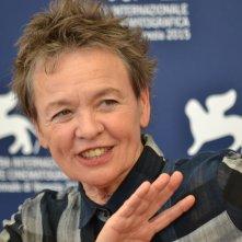 Venezia 2015: Laurie Anderson al photocall di Heart of a Dog