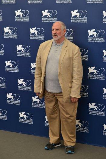 Venezia 2015: Brian De Palma al photocall per Jaeger-LeCoultre Glory to the Filmmaker 2015 Award