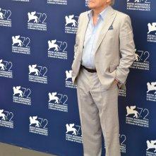 Venezia 2015: il regista Jerzy Skolimowski al photocall di 11 Minutes