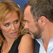Venezia 2015: Valeria Golino e Massimiliano Gallo al photocall di Per amor vostro