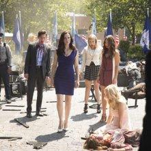 The Vampire Diaries: un momento della premiere della settima stagione