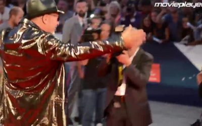 Vasco Rossi a Venezia 2015: il Red Carpet del rocker