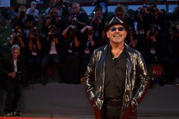 Venezia 2015: Vasco rossi sul red carpet di Il decalogo di Vasco