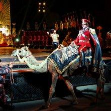 Aida on Sydney Harbour: un'immagine dello spettacolo messo in scena nella cornice del Sydney Harbour