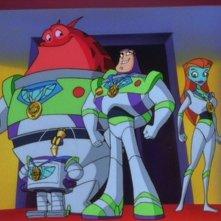 Una scena da Buzz Lightyear da comando stellare