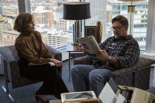 Padri e figlie: Jane Fonda e Russell Crowe in una scena del film