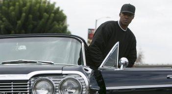 Straight Outta Compton: Corey Hawkins in un fotogramma del film