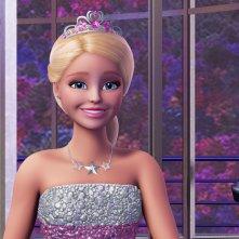Barbie Principessa Rock: la Principessa Courtney in un'immagine del film animato