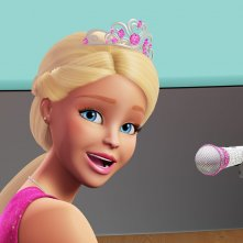 Barbie Principessa Rock: la Principessa Courtney in un'immagine del film d'animazione