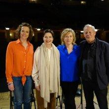 Io sono Ingrid: Sigourney Weaver, Isabella Rossellini, Liv Ullmann e Stig Björkman in un'immagine promozionale del documentario