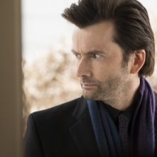 Jessica Jones: un primo piano di David Tennant