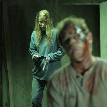 Reversal - La fuga è solo l'inizio: Richard Tyson e Tina Ivlev in una scena del film