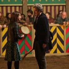 Doctor Who: Jenna Coleman e Peter Capaldi in The Magician's Apprentice