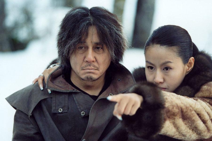 Choi Min-Sik in una scena di Old Boy