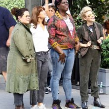 Ghostbusters: Melissa McCarthy, Kristen Wiig, Leslie Jones e Kate McKinnon sul set