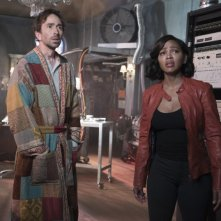 Minority Report: Daniel London e Meagan Good nel pilot della serie