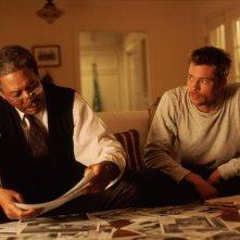 Brad Pitt e Morgan Freeman sono i protagonisti di SEVEN
