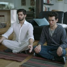Game Therapy: Federico Clapis e Leonardo Decarli in un'immagine del film