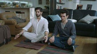 Game Therapy: Federico Clapis e Leonardo Decarli in un'immagine del film