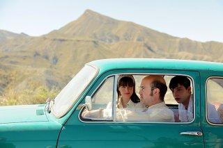 La vita è facile ad occhi chiusi: Javier Cámara,  Natalia de Molina e Francesc Colomer in una scena del film