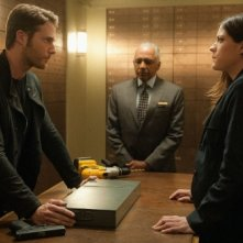 Limitless: Jake McDorman e Jennifer Carpenter in una scena del pilot