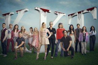 Scream Queens: un'immagine del cast della serie