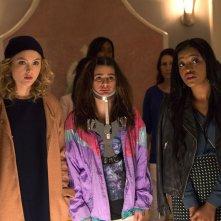 Scream Queens: Skyler Samuels, Lea Michele e Keke Palmer nel pilot