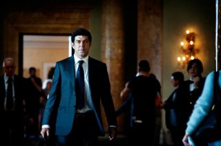 Suburra: Pierfrancesco Favino in una scena del film