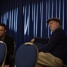 The Program: Ben Foster e Stephen Frears sul set del film