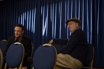 The Program: Ben Foster e Stephen Frears sul set del film